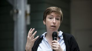 Caroline de Haas en mai 2017. (VINCENT ISORE / MAXPPP)