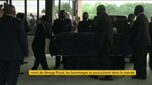 Hommages dans le monde george Floyd