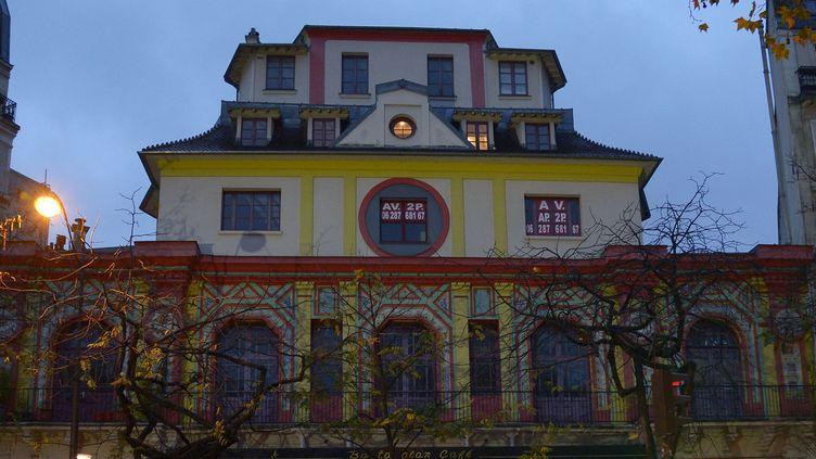 L'immeuble du Bataclan, situé 50 bd Voltaire à Paris.  (Bertrand Guay /AFP)
