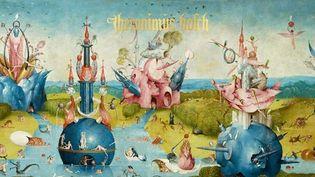 """""""Hieronymus Bosch. L'Œuvre complet"""" : couverture de l'ouvrage édité par Taschen (détail, extrait du """"Jardin des délices"""", vers 1503)  (Madrid, Museo Nacional del Prado)"""
