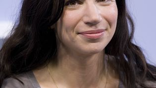 La romancière suisse Dana Grigorcea en 2019. (ULRICH BAUMGARTEN / ULRICH BAUMGARTEN)