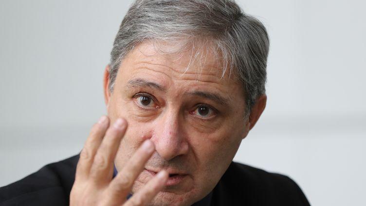 Le procureur de Nice Jean-Michel Pretre, le 19 janvier 2017. (VALERY HACHE / AFP)