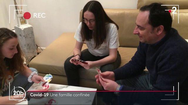 Covid-19 : une famille raconte son quotidien confinée chez elle