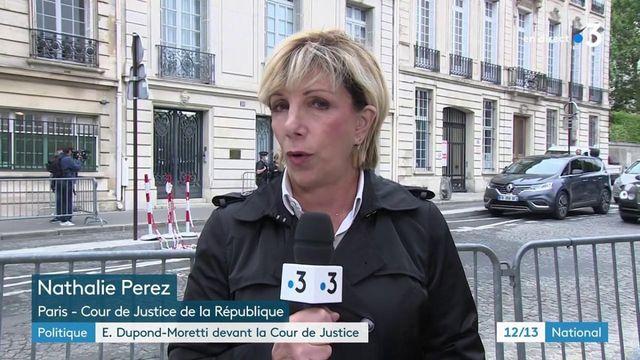 Éric Dupont-Moretti entendu par les magistrats de la Cour de justice de la République