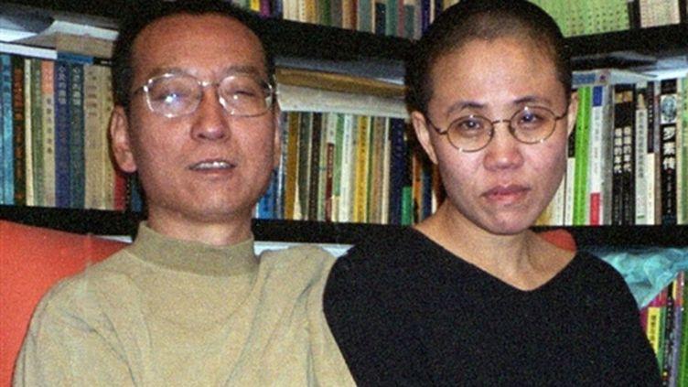 Liu Xiaobo et son épouse Liu Xia, le 22 octobre 2002. (AFP - Chine)