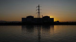 La centrale nucléaire de Fessenheim, dans le Haut-Rhin, le 23 juin 2020. (SEBASTIEN BOZON / AFP)