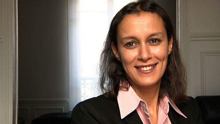 Mouna Viprey, venue en France pour étudier, comme nombre de ses proches. (HP/FTV)