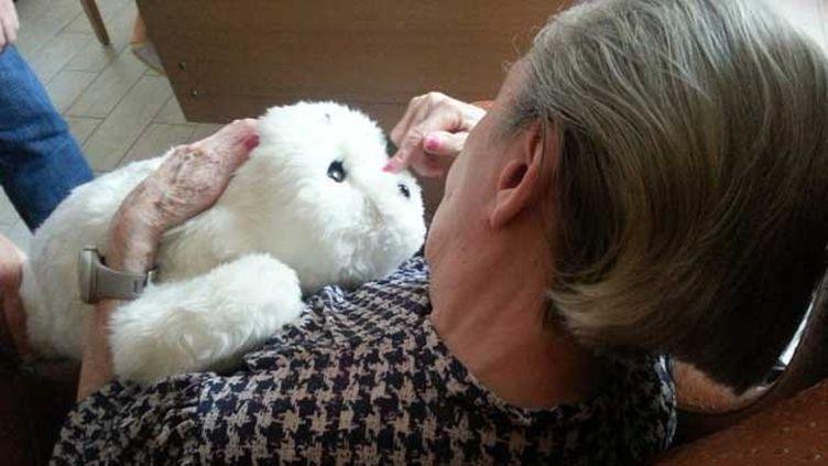 (Simone continue à regarder Paro avec affection © Bruno Rougier / RF)