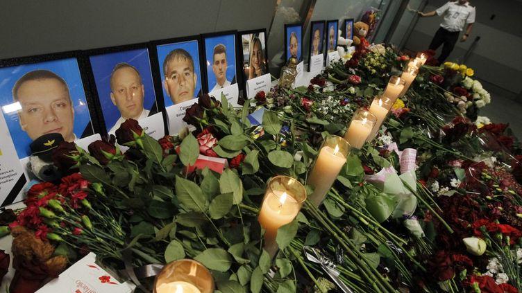Un hommage est rendus aux victimes du crash d'un Boeing 737 ukrainien en Iran, le 11 janvier 2020, à Kiev. (NURPHOTO / AFP)