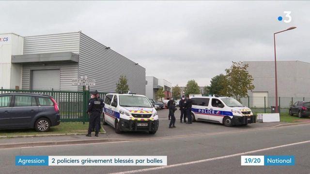 Agression : deux policiers grièvement blessés par balles à Herblay dans le Val-d'Oise