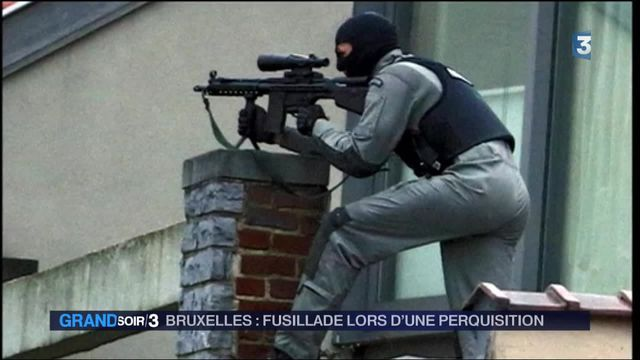 Fusillade à Bruxelles : un suspect tué, quatre policiers blessés