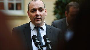 Le secrétaire général de la CFDT, Laurent Berger, à Matignon, en janvier 2020. (CHRISTOPHE ARCHAMBAULT / AFP)