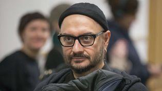 Le réalisateur russe Kirill Serebrennikov au tribunal à Moscou (16 janvier 2018)  (Alexander Zemlianichenko / AP / SIPA)