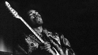 JImi Hendrix sur scène le 8/01/1969 à Gothenburg (Suède) (ERIK KARLSSON/EXPRESSEN / TT NEWS AGENCY)