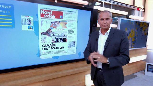 Camaïeu sauvé, des vendanges précoces... La revue de presse du   mardi 18 août