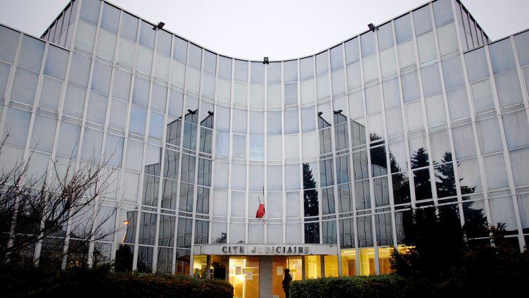 Le palais de justice de Montbéliard (Doubs). (JEFF PACHOUD / AFP)