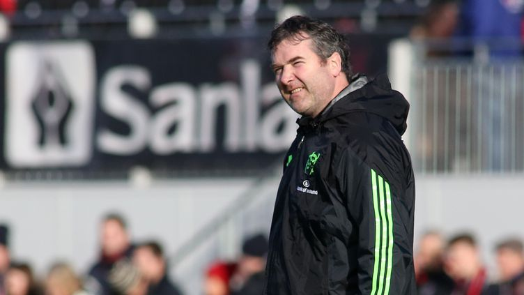 Anthony Foley était l'entraîneur du Munster. (17 janvier 2015) (JAMES MARSH / BACKPAGE IMAGES LTD)