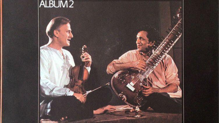 "Le second album ""West Meets East"" de Yehudi Menuhin et Ravi Shankar. (DR)"