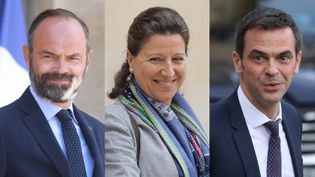Edouard Philippe, Agnès Buzyn et Olivier Véran (AFP / LUDOVIC MARIN)