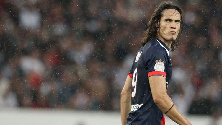 L'attaquant du PSG, Edinson Cavani