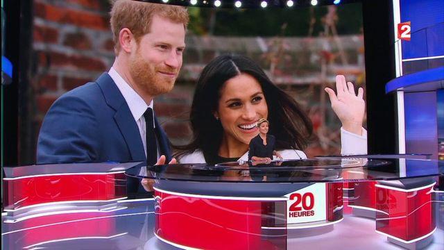 Le prince Harry annonce ses fiançailles avec l'actrice Meghan Markle