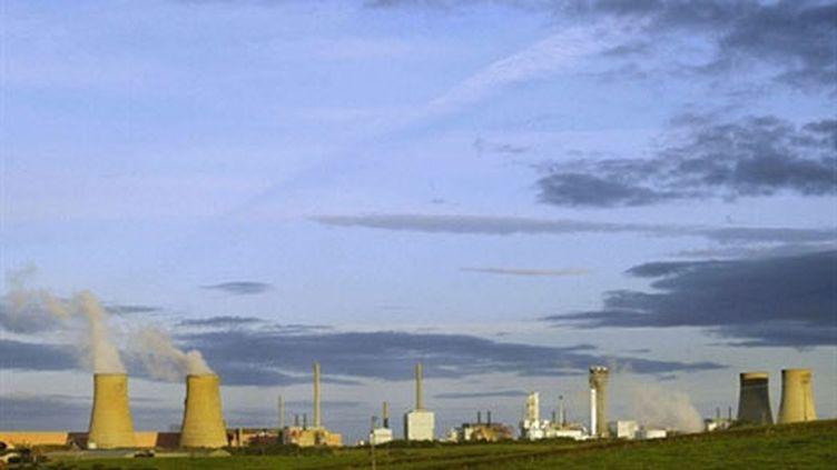 La centrale nucléaire de Sellafield, dans le nord de l'Angleterre (archives, 2002) (AFP / Odd Andersen)