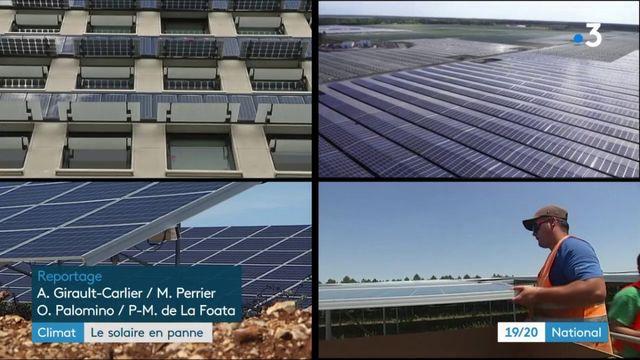 Climat : les installations de panneaux solaires baissent en France