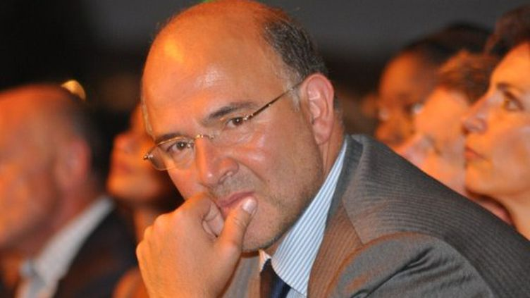 Pierre Moscovici est le coordonnateur de la campagne de la primaire de François Hollande. (Optional,TTL / citizenside.com)