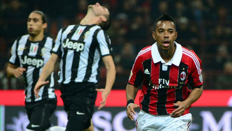 Robinho (AC Milan) (OLIVIER MORIN / AFP)