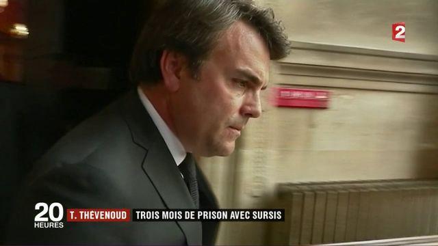 Thomas Thévenoud : trois mois de prison avec sursis