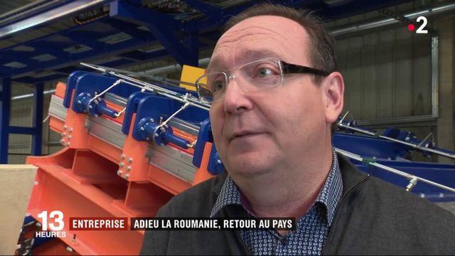 Emploi : à la rencontre d'une entreprise qui relocalise en France