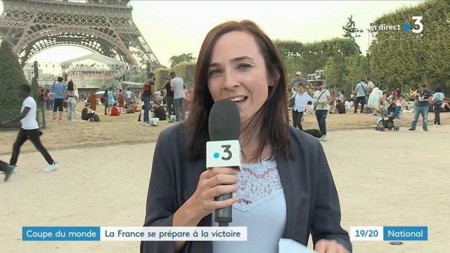 Coupe du monde : Paris se prépare à la finale
