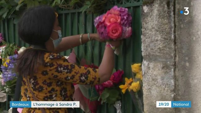 Bordeaux : l'hommage à Sandra P., victime de son ex-conjoint