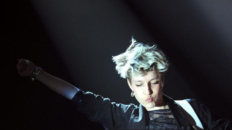 Jeanne Added en concert aux Trans Musicale de Rennes 2014  (JEAN-FRANCOIS MONIER / AFP)