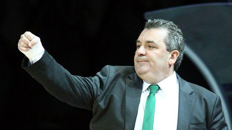 Pascal Donnadieu (JSF Nanterre) (AHMET DUMANLI / ANADOLU AGENCY)