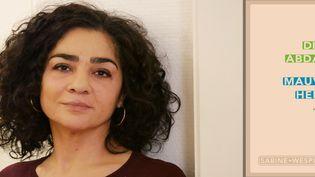 """L'autrice libanaise Dima Abdallah, récompensée en août 2020 par le prix Envoyé par La Poste pour son premier roman """"Mauvaise herbe"""". (DAVID POIRIER)"""