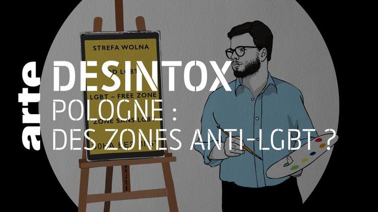 Désintox. Non, il n'y a pas de « zones sans LGBT » en Pologne (ARTE/LIBÉRATION/2P2L)