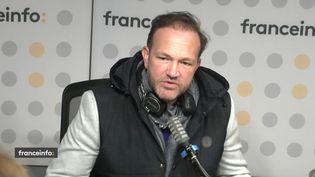Thibaut de Saint-Maurice, le créateur du Paris podcast festival, était l'invité de franceinfo 14 octobre 2021. (FRANCEINFO / RADIO FRANCE)