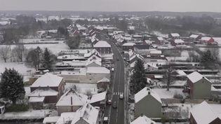 Nord : un froid glacial à Maubeuge.  (FRANCE 2)