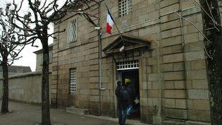L'arrière de la maison d'arrêt de Guéret (Creuse), en 2006. (MAXPPP)