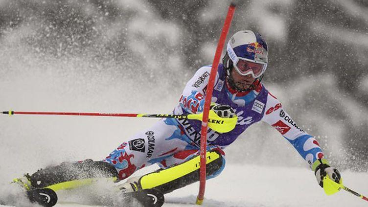 Alexis Pinturault vainqueur de super-combiné de Kitzbüehel (OLIVIER MORIN / AFP)