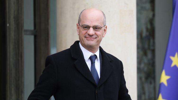 Le ministre de l'Éducation Jean-Michel Blanquerau palais de l'Élysée, le 11 décembre 2019. Illustration. (LUDOVIC MARIN / AFP)