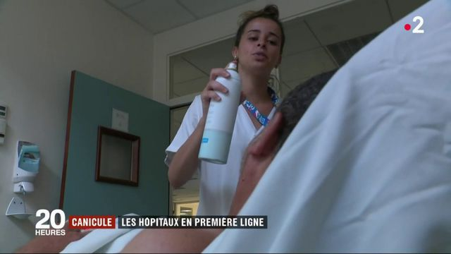 Canicule : les hôpitaux s'adaptent aux températures excessives