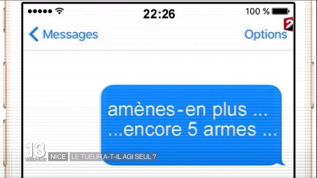 """Attentat de Nice : """"Amènes-en plus... encore cinq armes"""""""
