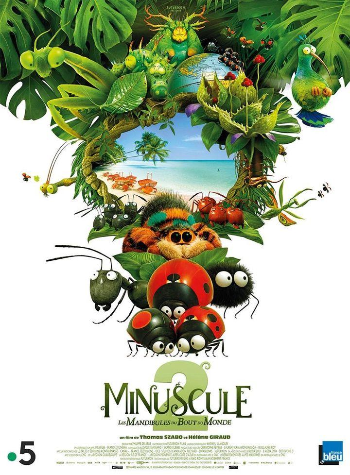 """Minuscule 2 - Les Mandibules du bout du monde"""" : l'affiche  (Le Pacte)"""