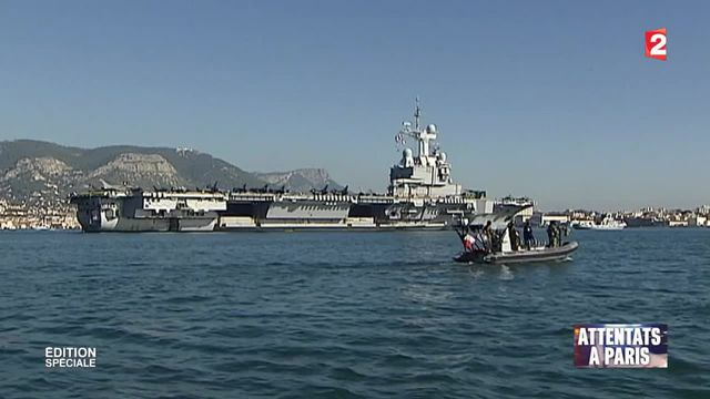 Syrie : le porte-avions Charles de Gaulle a appareillé