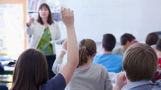 Une classe de collège à Saumur (Maine-et-Loire), le 27 mai 2011. (MAXPPP)