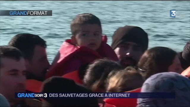 Migrants : quand le web permet aux humanitaires de s'engager