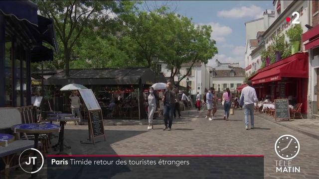 Tourisme : Paris s'impatiente de retrouver ses visiteurs