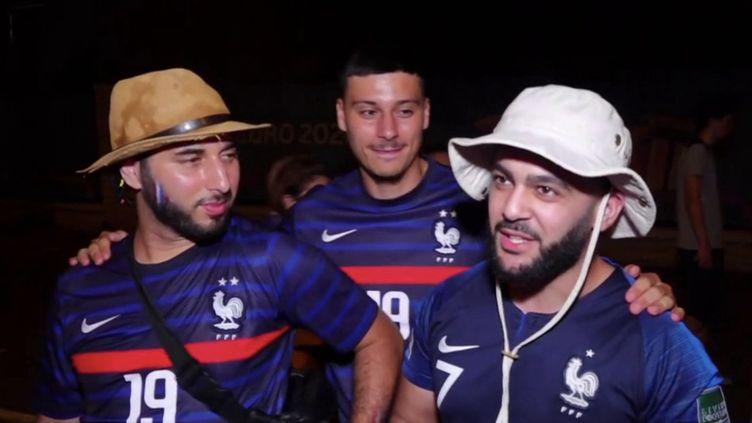 Plus de 15 millions de Français ont regardé le match France-Portugal, mercredi 23 juin. (CAPTURE D'ÉCRAN FRANCE 3)
